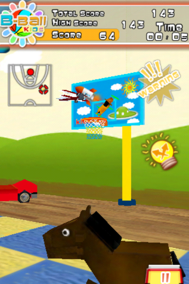 Screenshot B-Ball Kids